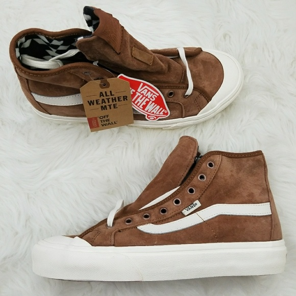 a60ee18b57 Vans Black Ball Hi Monks Robe Brown Suede W 8